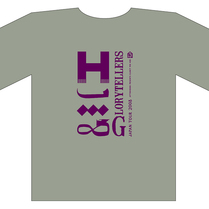 HIM & GLORYTELLERS JAPAN TOUR 2008 Tシャツ