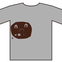 KIM HIORTHOY(正面顔1つ) [t-shirts]