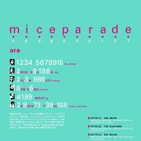 MICE PARADE JAPAN TOUR